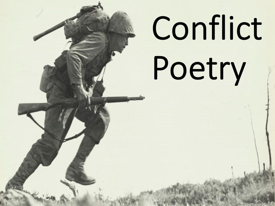 Conflict Poetry – Year 8/9
