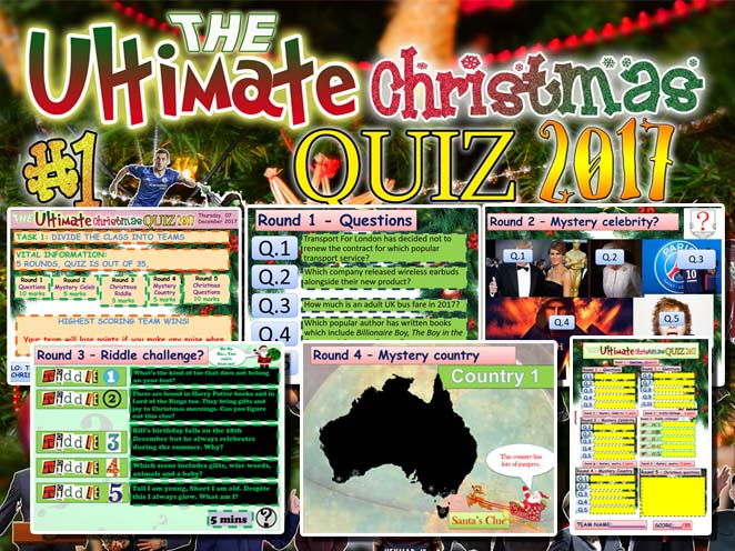 The Ultimate Christmas quiz #1