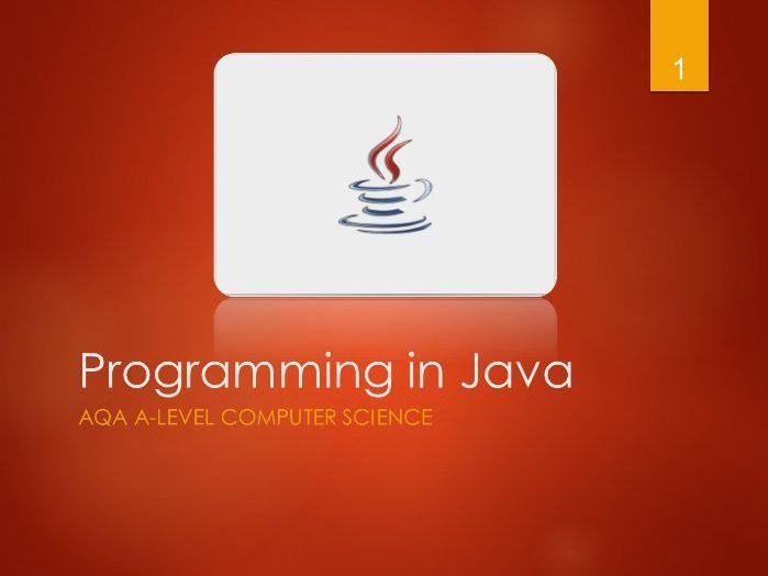 Java programming powerpoint presentation