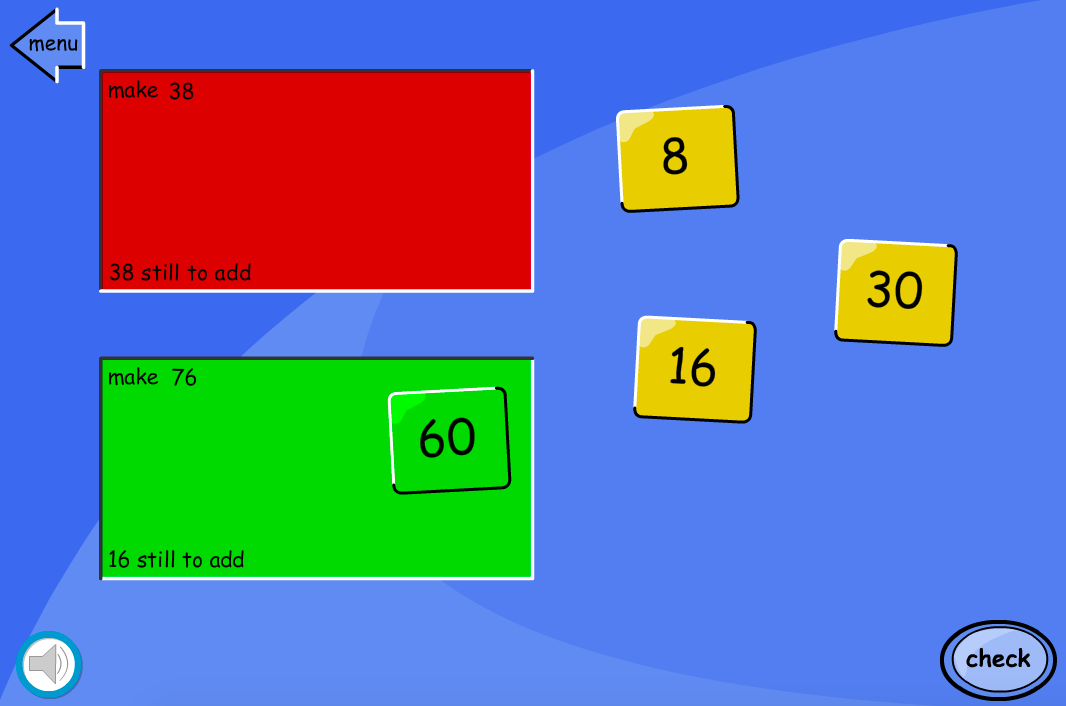 Addition to 100 - Reverse Partitioning Puzzle Interactive Activity - KS2 Number