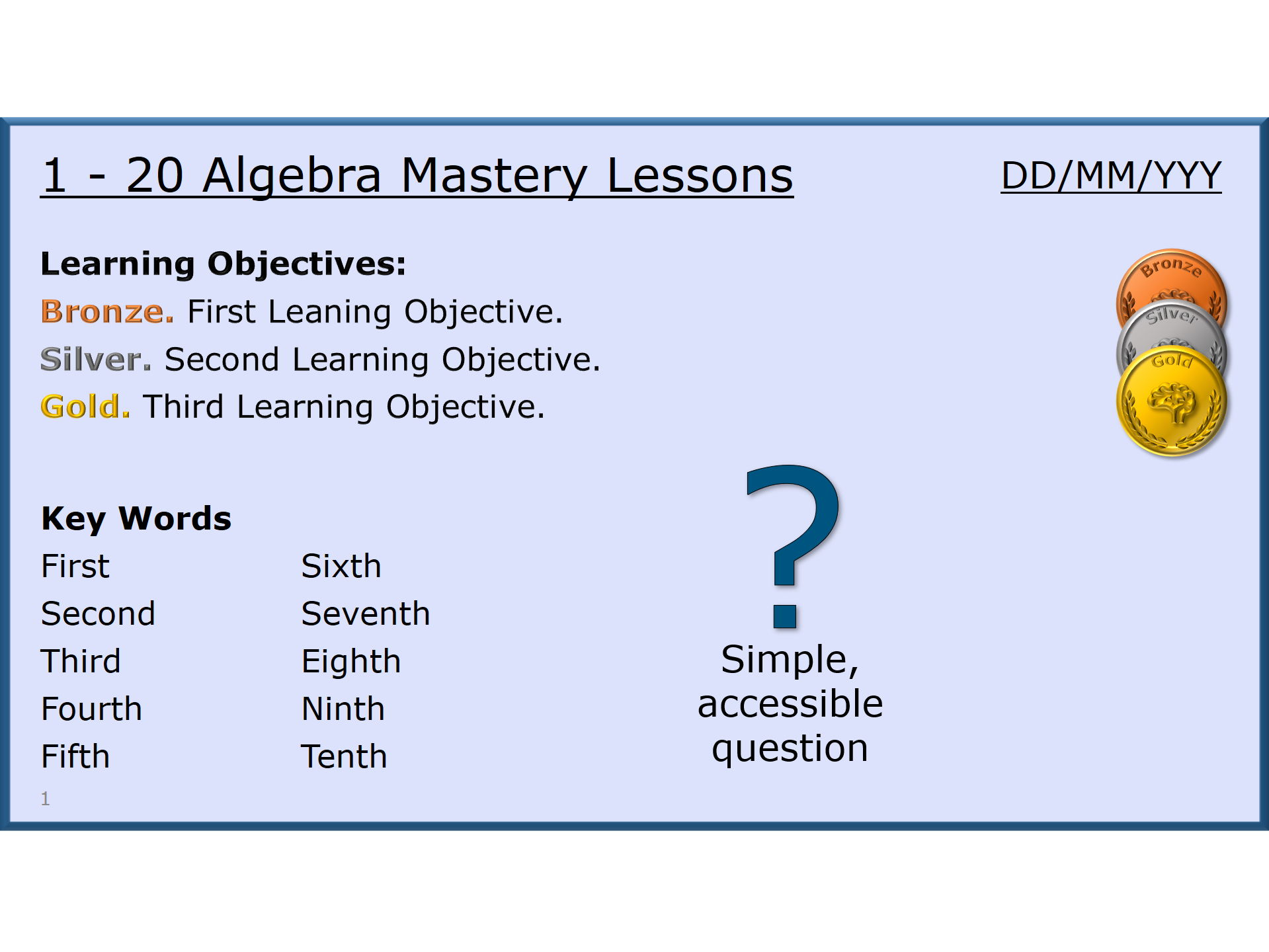Algebra Course Parts 1 and 2 - 20 Full Lessons