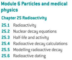 OCR A level Physics: Radioactivity