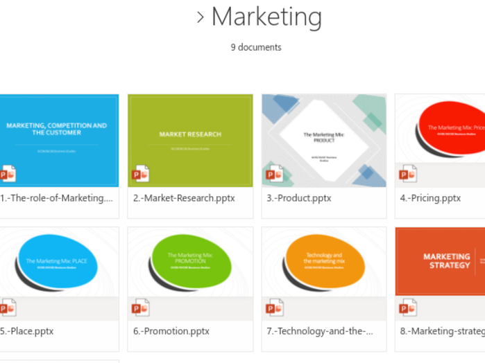 IGCSE/GCSE Marketing for Business Studies (Unit 3)