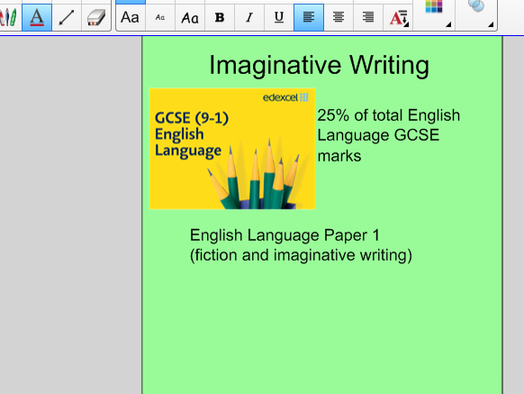 Introduction to Creative Writing - Edexcel