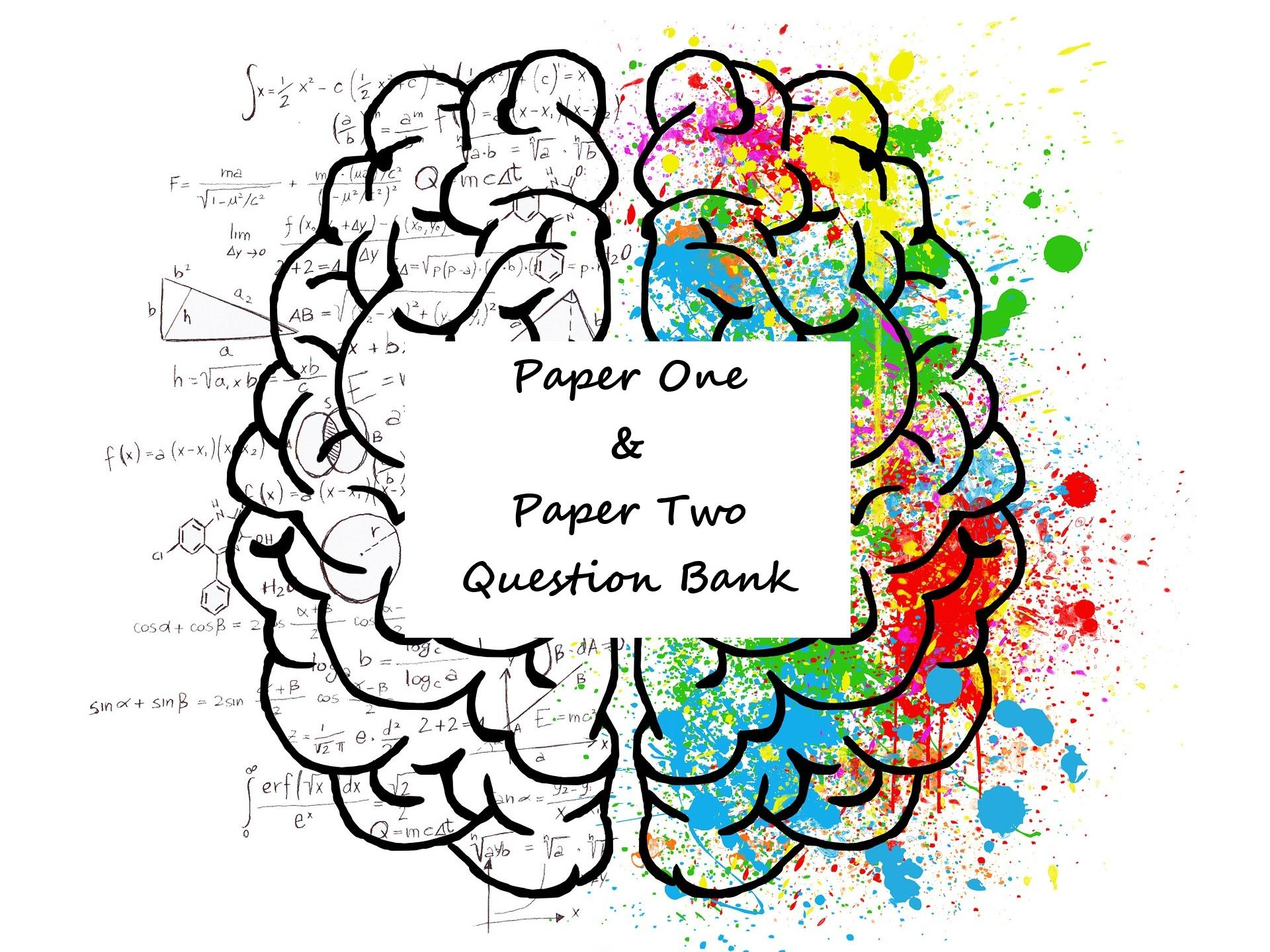 Question Bank: Paper One & Paper Two
