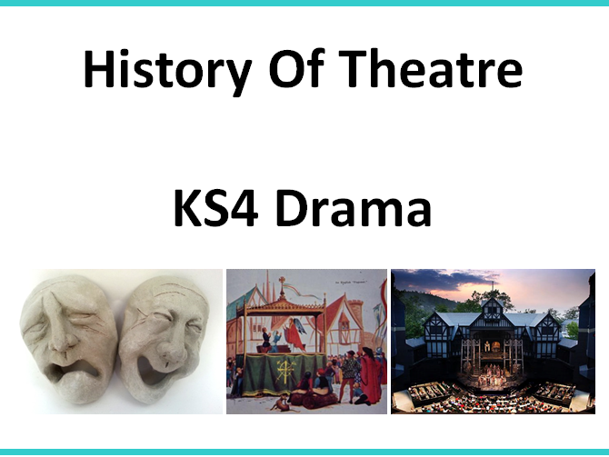 History of Theatre Scheme of Work
