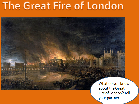 The Great Fire of London Powerpoint