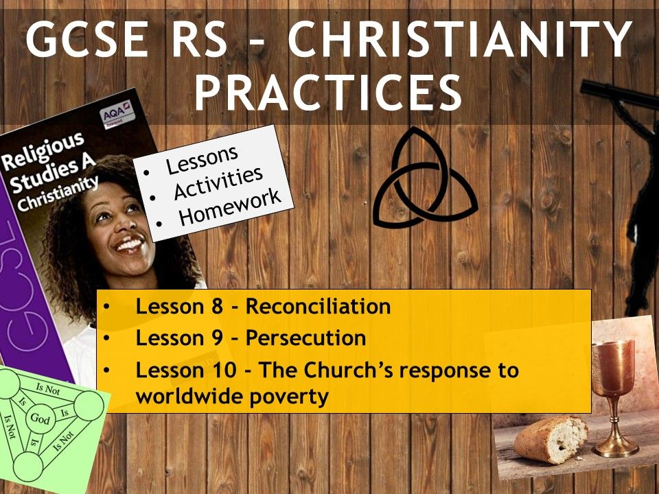 AQA GCSE RE RS - Christianity Practices - Lessons 8-10