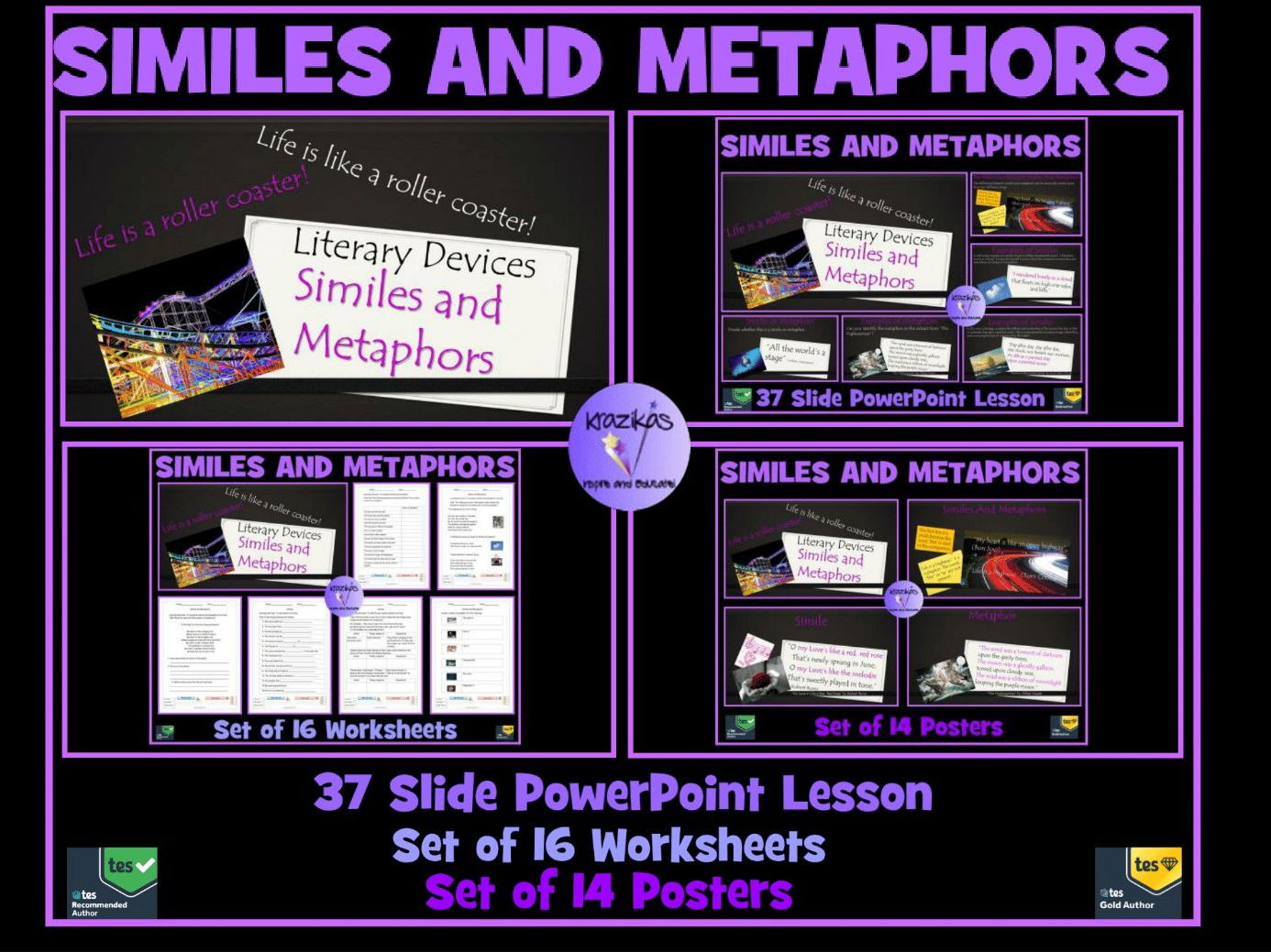 Money Worksheets For 2nd Grade Word Inspire And Educate By Krazikas  Teaching Resources  Tes Rhyming Words Cut And Paste Worksheets Excel with Holiday Worksheets Word Similes And Metaphors Bundle  Powerpoint Lesson Set Of  Worksheets Set  Of  Maths Worksheets For Primary 1 Pdf