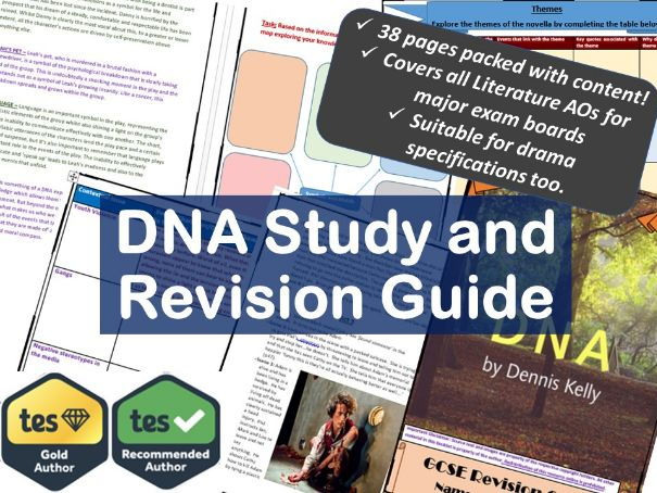 DNA GCSE Revision and Study Guide.