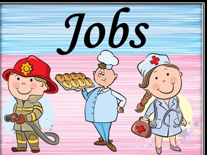Jobs. Professions. Riddles.