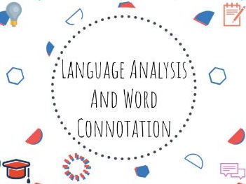Language analysis and word connotation