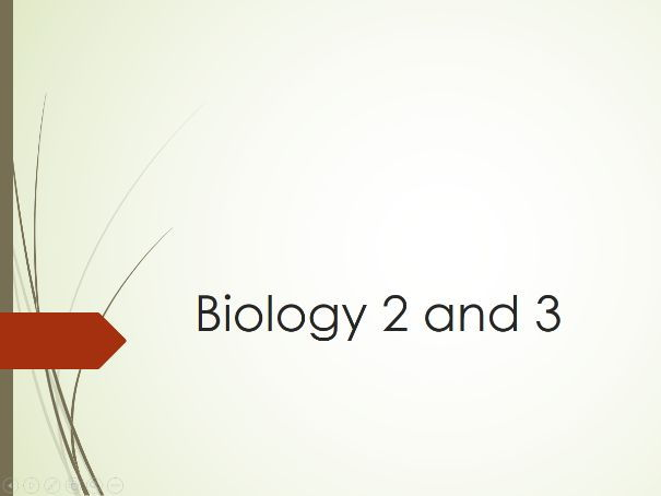 Biology 2 & Biology 3 AQA GCSE Revision PowerPoint for 2017 specification