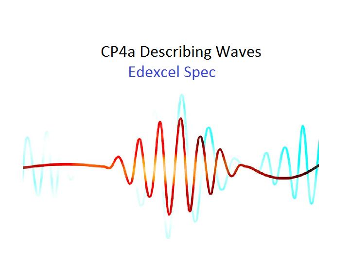 CP4a Describing waves