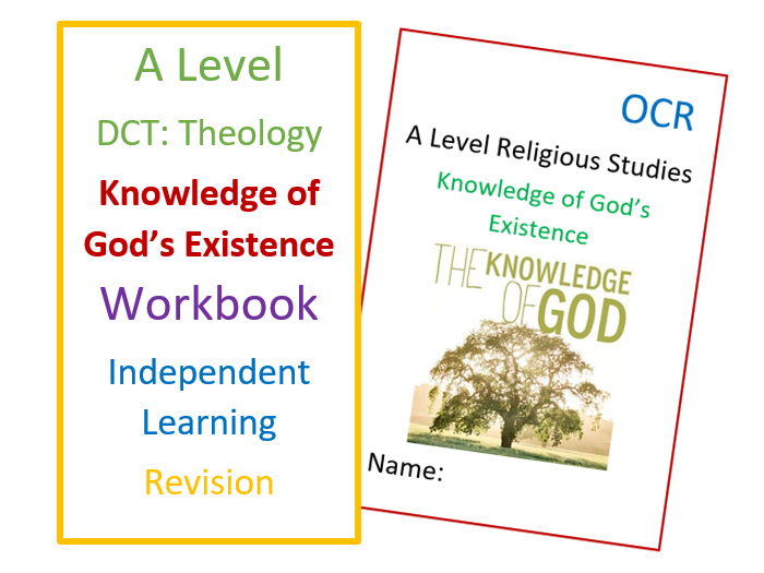 A Level RS: Knowledge of God's Existence - Workbook for Revision and Self-Study
