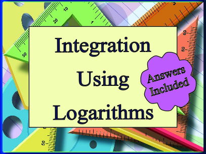 Integration Using Logarithms - 20 Questions With Answers