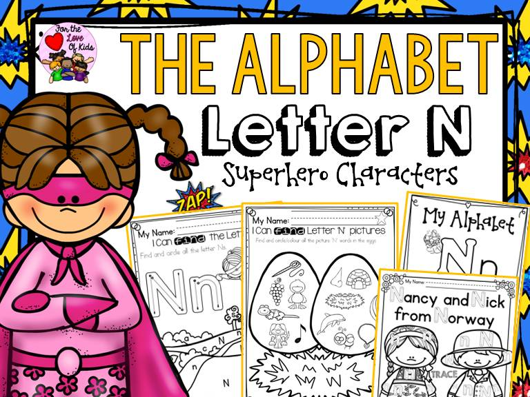 PHONICS: THE ALPHABET: LETTER N