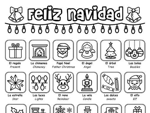 KS3 Spanish - La navidad (christmas) - booklet of activities