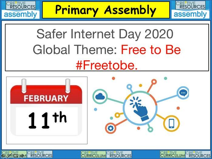 Safer Internet Day Assembly - Primary