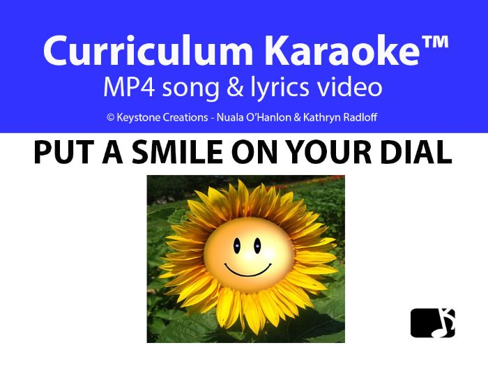 'PUT A SMILE ON YOUR DIAL' (Grades Pre K-3) ~ Curriculum Song Video