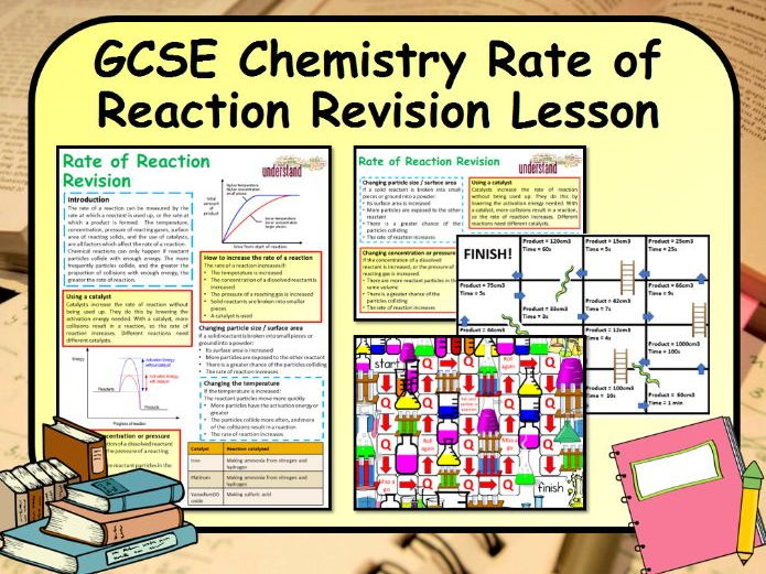 KS4 GCSE Chemistry Rates of Reaction Revision Lesson