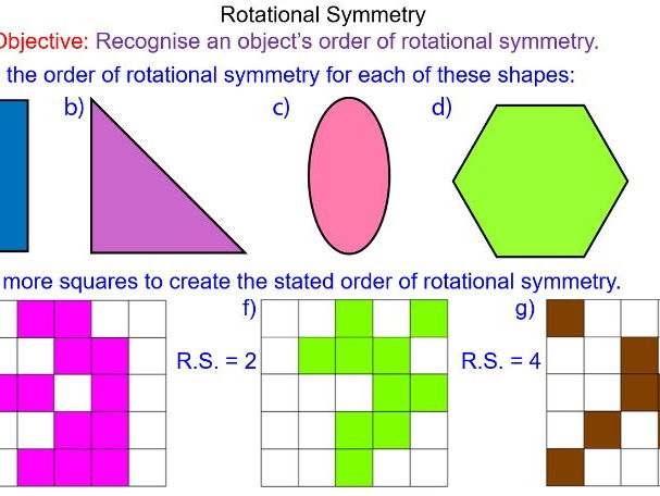 Geometry and measures teaching resources: Symmetry | TES
