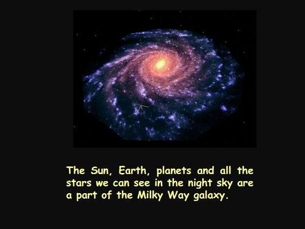 Milky Way Galaxy PowerPoint
