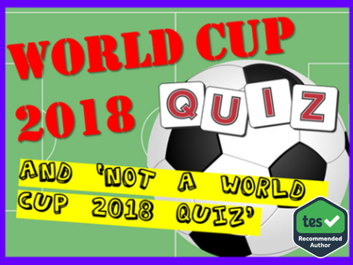 World Cup / No World Cup Quiz 2018