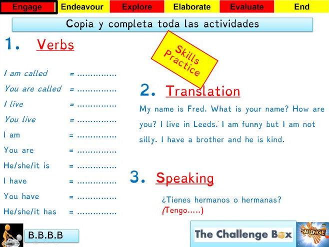 Viva 1 - Module 2 - Que te gusta hacer - Lesson 1