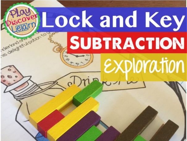 PDL's Subtraction Lock and Key for Cuisenaire Rods