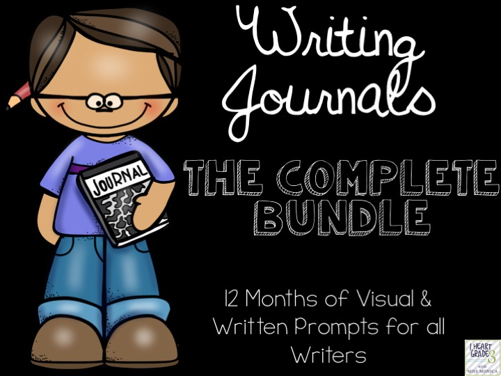Writing Journals with Visual & Written Prompts