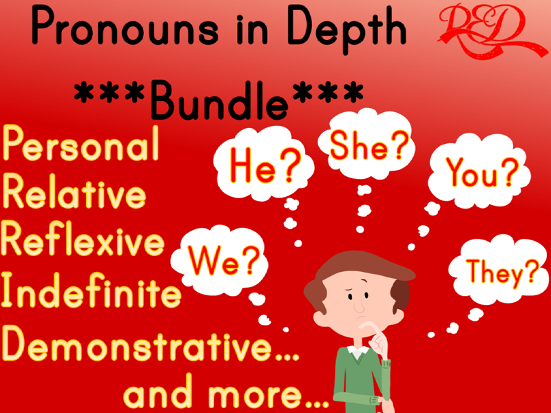 Parts of Speech: PRONOUNS