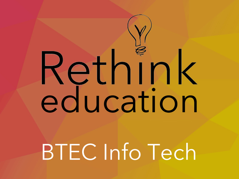 BTEC Digital Information Technology Learning Aim A1