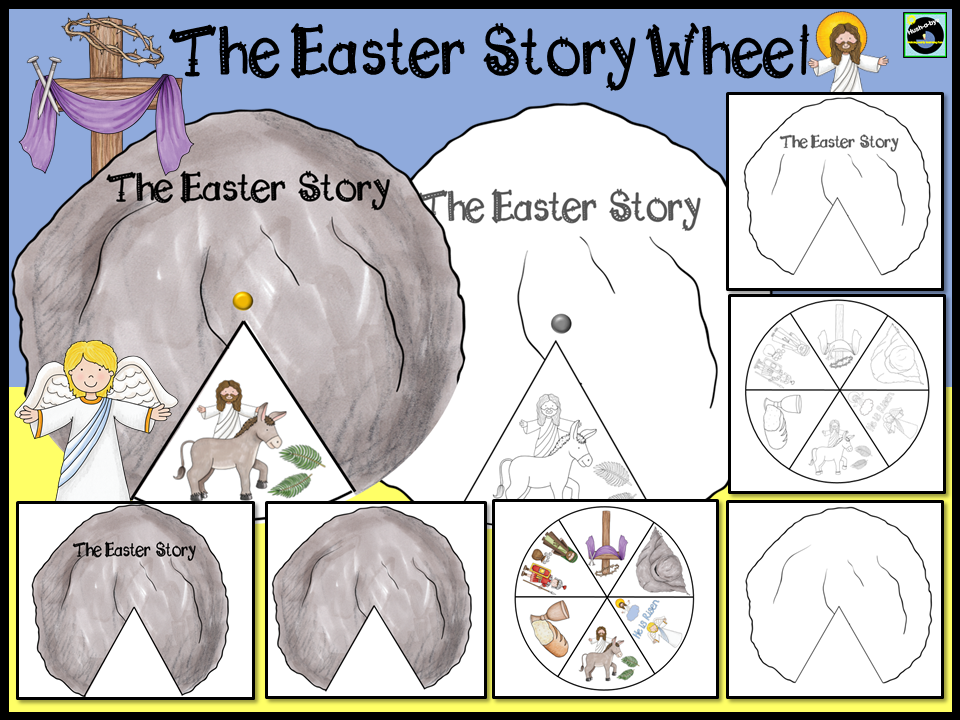 Easter Story Wheel
