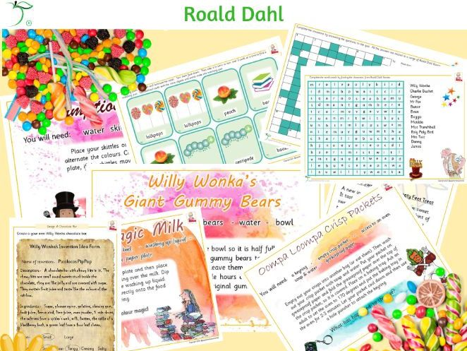 Roald Dahl Bundle of Activities