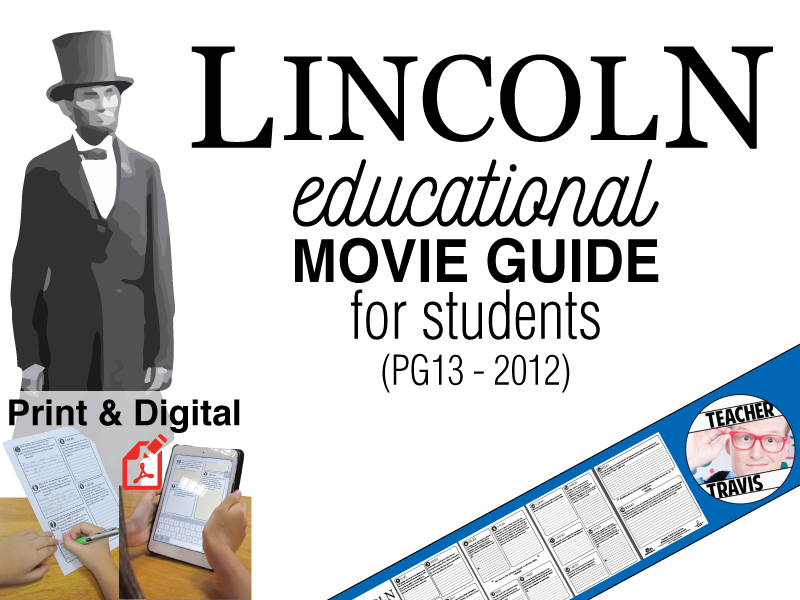 Lincoln Movie Guide Questions (PG13 - 2012)