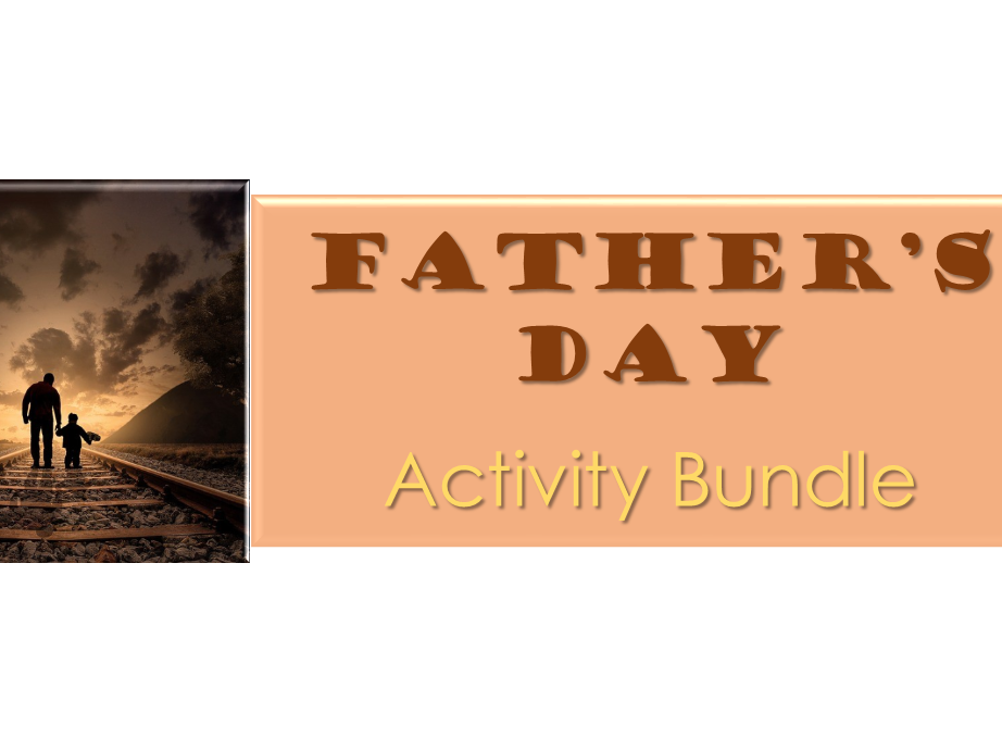 A bundle of Father's Day activiies