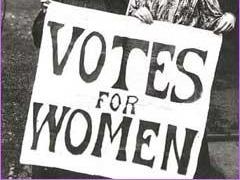 Suffragette! The Campaign for Votes for Women.