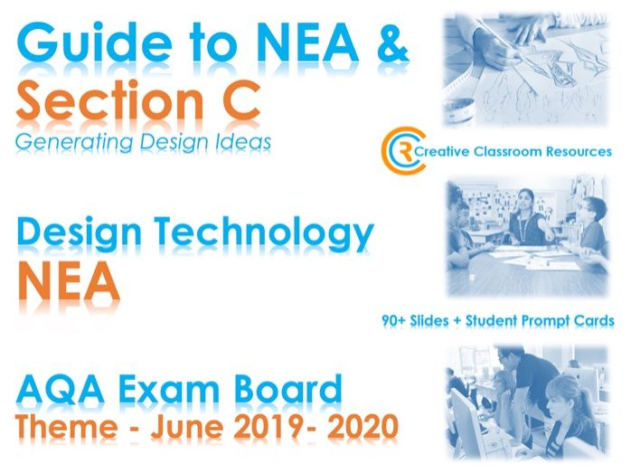 GCSE DT NEA AQA Guide to Section C – Generating Design Ideas with VIDEOS - NEW & IMPROVED!