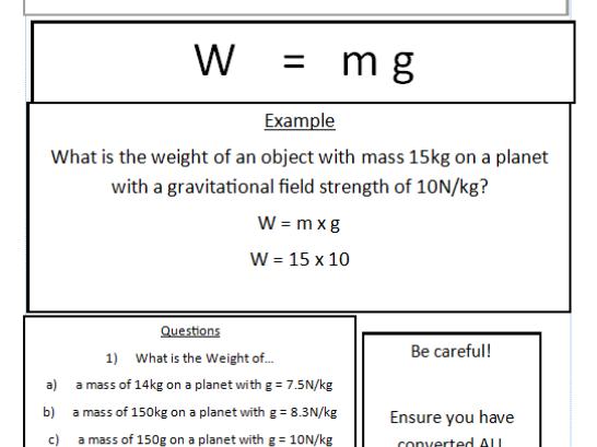 Physics Trilogy AQA Equations booklet