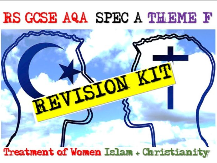 Women Islam / Christianity - GCSE RS Thematic Studies AQA Exam Practice 9-1