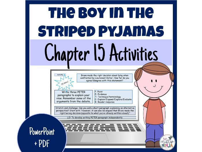 The Boy in the Striped Pyjamas     Chapter 15 Activities