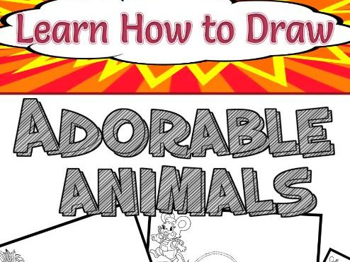 Learn How to Draw Adorable Animals