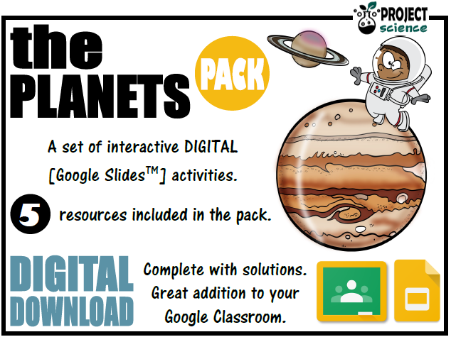 The Planets Digital Resources Pack - Distance Learning