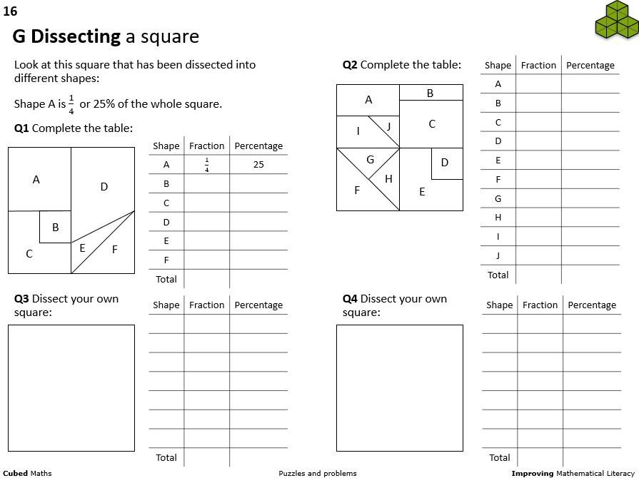 Maths problems, puzzles and ideas (ppt)