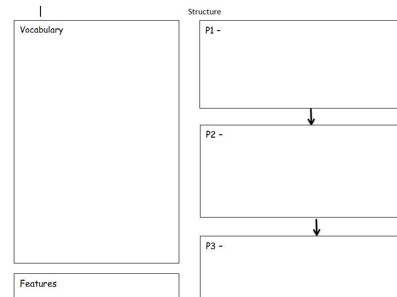 English Planning Grid Key Stage 2