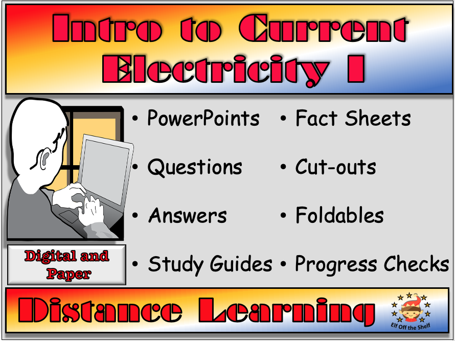 Current Electricity - An Introduction for KS2 - Distance Learning or Home Learning