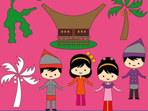 I love Indonesia clip art - Sulawesi Clipart