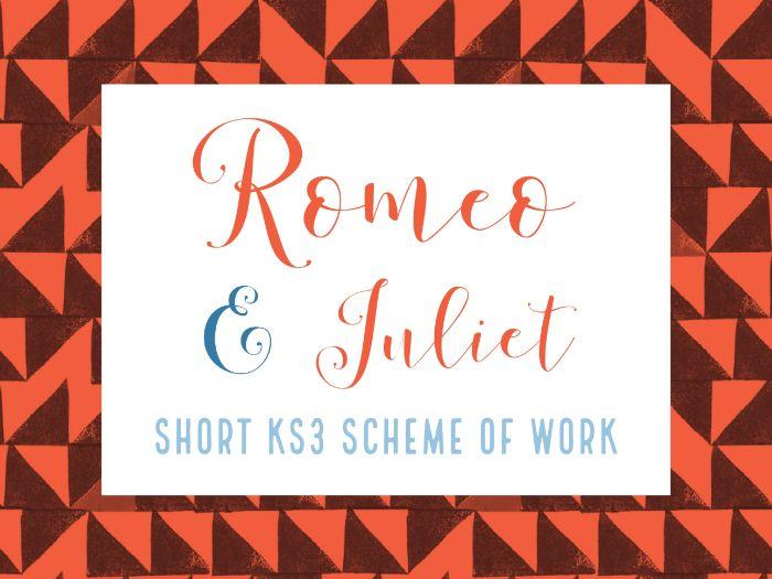 Romeo & Juliet - Complete KS3 SOW (Short)