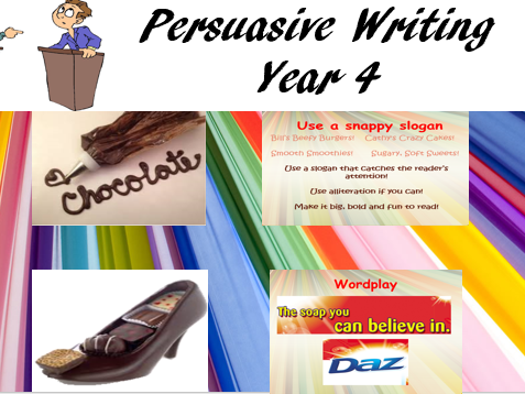 Persuasive Writing Year 4